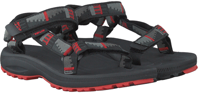 Schwarze TEVA Sandalen HURRICANE 2 GIRLS - large