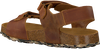 Cognacfarbene DEVELAB Sandalen 48213  - small