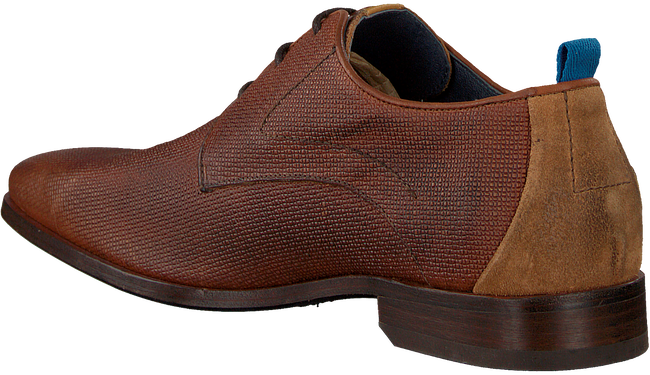 Cognacfarbene REHAB Business Schuhe GREG WALL 02 - large