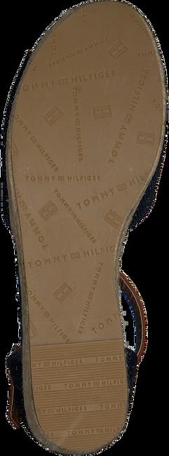 Blaue TOMMY HILFIGER Sandalen ROPE WEDGE SANDAL  - large