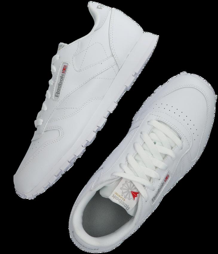 Weiße REEBOK Sneaker CLASSIC LEATHER KIDS - larger