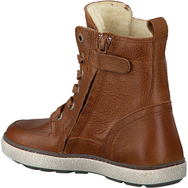 Cognacfarbene GIGA Ankle Boots 8833 - large
