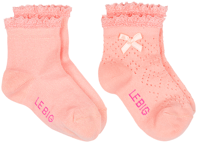 Orangene LE BIG Socken ISOLDE SOCK 2-PACK - large