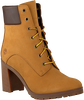 Camelfarbene TIMBERLAND Ankle Boots ALLINGTON 6IN LACE - small