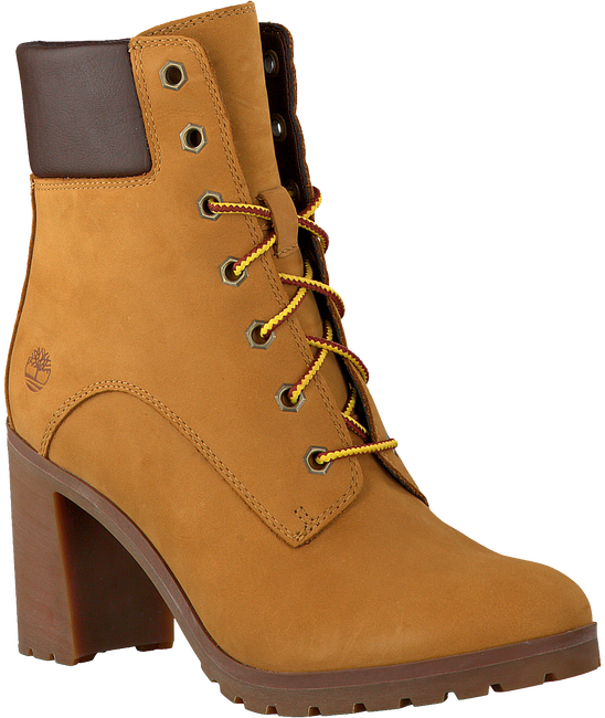 Camelfarbene TIMBERLAND Ankle Boots ALLINGTON 6IN LACE - large