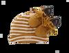 Camelfarbene TIMBERLAND Babyschuhe CRIB BOOTIE W/HAT - small