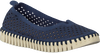 Blaue ILSE JACOBSEN Slipper TULIP3775 - small