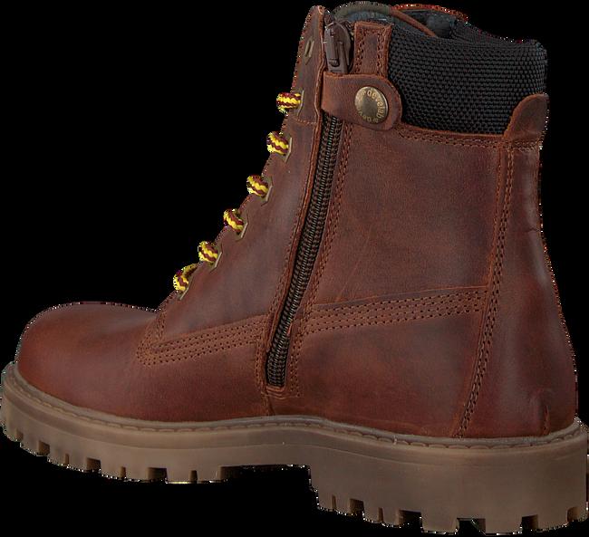 Cognacfarbene DEVELAB Ankle Boots 41741 - large