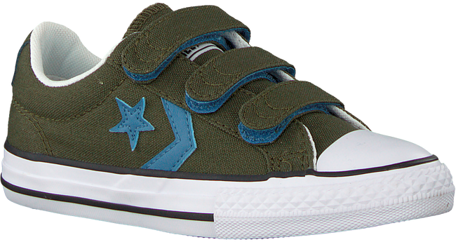 Grüne CONVERSE Sneaker STAR PLAYER 3V OX KIDS - large