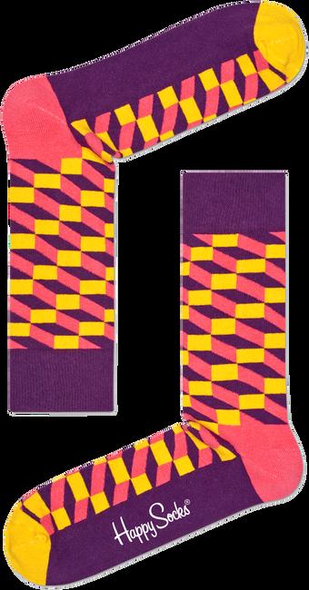 Mehrfarbige/Bunte HAPPY SOCKS Socken FILLED OPTIC - large