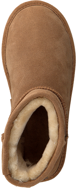 Cognacfarbene WARMBAT Hausschuhe WALLABY WOMEN SUEDE - large