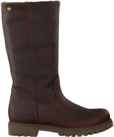 Braune PANAMA JACK Hohe Stiefel BAMBINA B82  - medium