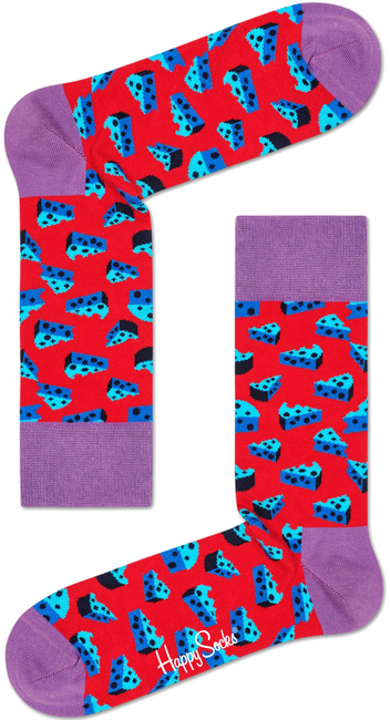 Rote HAPPY SOCKS Socken CHEESE - large