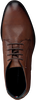 Cognacfarbene TOMMY HILFIGER Business Schuhe SIGNATURE HILFIGER BOOT  - small