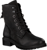 Schwarze OMODA Schnürboots LALA LACE BOOT - small