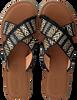 Schwarze TOMS Pantolette VIV 10013305  - small