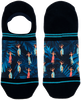 Blaue XPOOOS Socken HULA HULA  - small