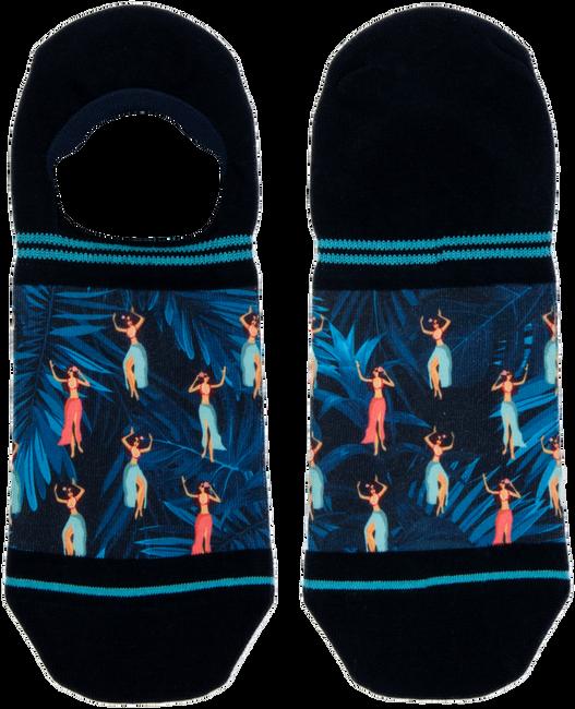 Blaue XPOOOS Socken HULA HULA  - large