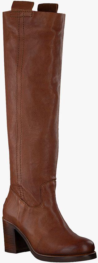 Cognacfarbene SHABBIES Hohe Stiefel 193020038  - larger