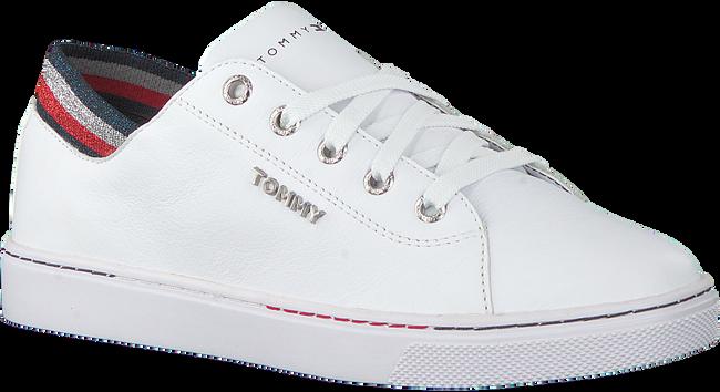 Weiße TOMMY HILFIGER Sneaker low GLITTER DETAIL CITY  - large