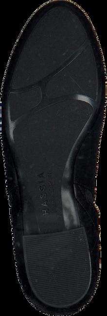 Schwarze HASSIA Stiefeletten 0989 - large