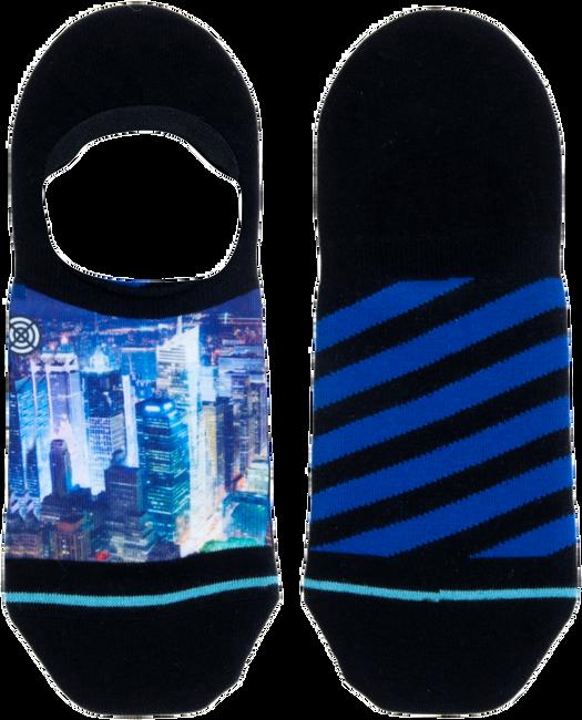 Mehrfarbige/Bunte XPOOOS Socken CITYLIGHTS INVISIBLE  - large