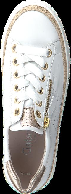 Weiße GABOR Sneaker low 418  - large