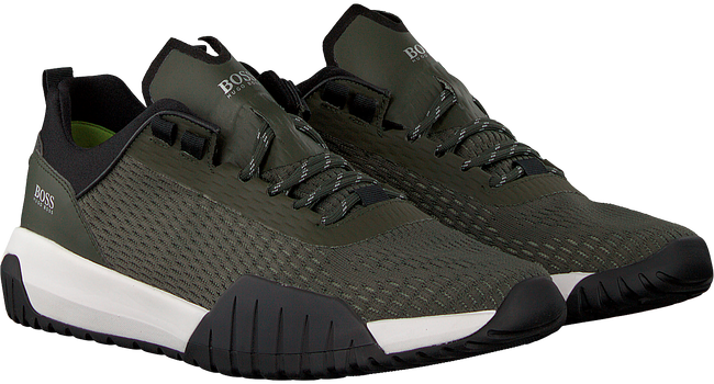 green HUGO BOSS shoe STORM RUNN  - large