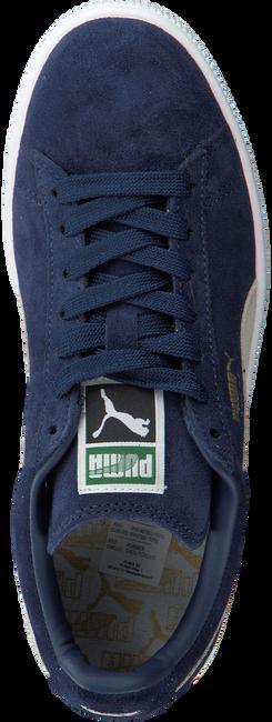 Blaue PUMA Sneaker SUEDE CLASSIC+ DAMES - large