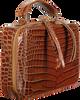 Braune UNISA Clutch ZBELE  - small