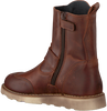 Cognacfarbene DEVELAB Ankle Boots 41703 - small