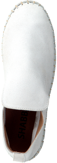Weiße SHABBIES Mokassins 120020018  - large