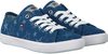 Blaue TOMMY HILFIGER Schnürschuhe T3A4-00257 - small