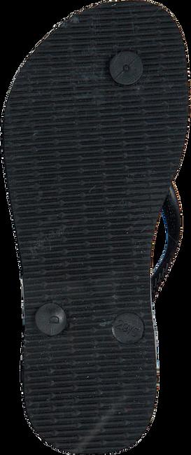Schwarze HAVAIANAS Pantolette KIDS SLIM TROPICAL FLORA  - large