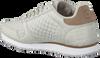 Graue WODEN Sneaker low YDUN CROCO  - small