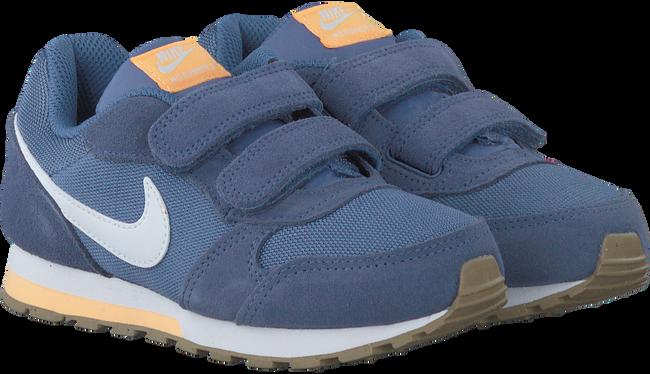 Blaue NIKE Sneaker MD RUNNER 2 KIDS LACE - large