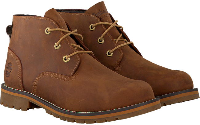Braune TIMBERLAND Ankle Boots LARCHMONT WP CHUKKA MED - large
