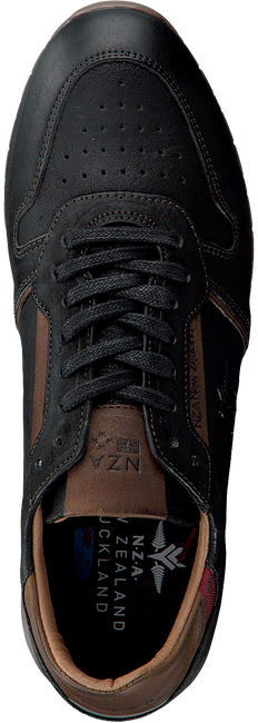 Schwarze NEW ZEALAND AUCKLAND Sneaker KUROW BND M - large