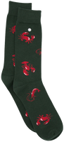 Grüne Alfredo Gonzales Socken SEA CRITTERS  - medium