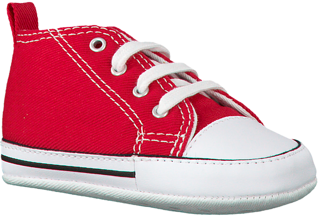 Rote CONVERSE Babyschuhe FIRST STAR - large