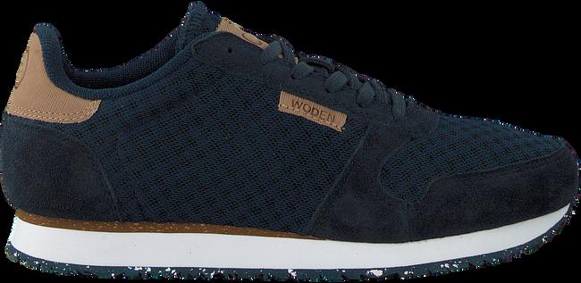 Blaue WODEN Sneaker YDUN SUEDE MESH  - large