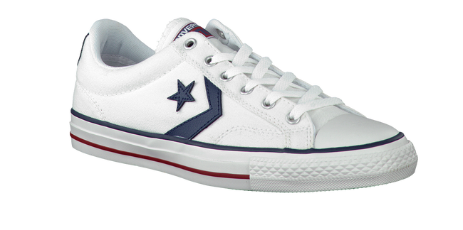 Weiße CONVERSE Sneaker STAR PLAYER OX - large