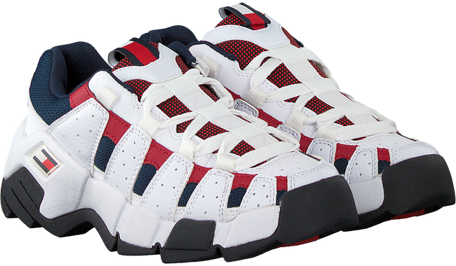 Weiße TOMMY HILFIGER Sneaker low CHUNKY HERITAGE WMNS  - large