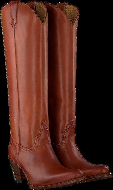 Cognacfarbene SENDRA Hohe Stiefel 6592  - large
