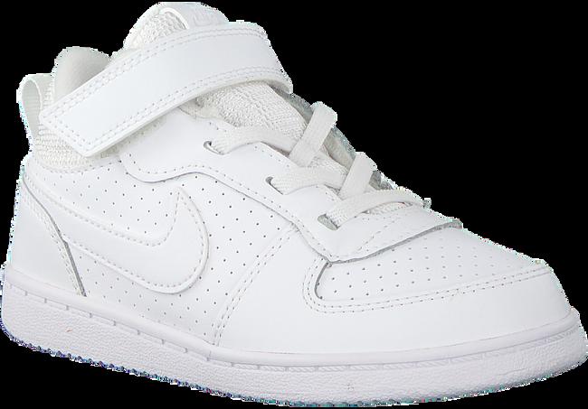 Weiße NIKE Sneaker COURT BOROUGH MID (KIDS)  - large