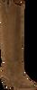 Cognacfarbene BRONX Hohe Stiefel LOW-KOLE 14188  - small