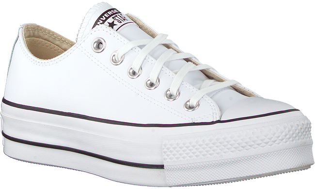 Weiße CONVERSE Sneaker low CHUCK TAYLOR AS LIFT CLEAN OX  - large
