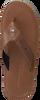 Cognacfarbene TOMMY HILFIGER Zehentrenner BARI 1A - small