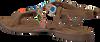 Braune LAZAMANI Sandalen 75.587 - small