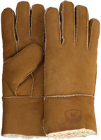 Cognacfarbene WARMBAT Handschuhe GLOVES WOMEN  - medium
